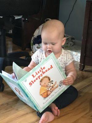 Marian reads Little Sleepyhead